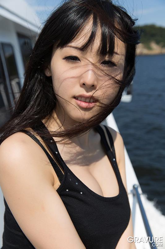 Natsuki Yokoyama get naked outdoor on hotasiansgirl.com
